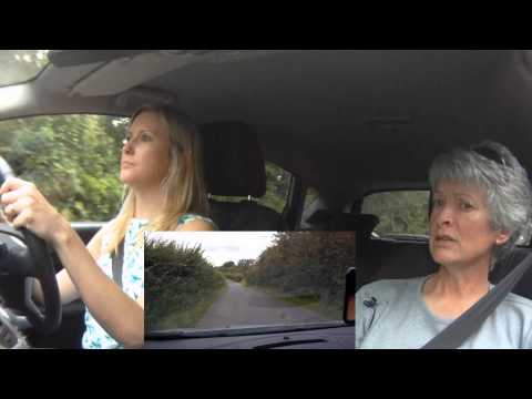 Jo's intensive driving course, part 1, August 2012