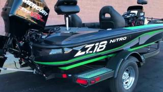 NITRO Z18  Bass Fishing Boat