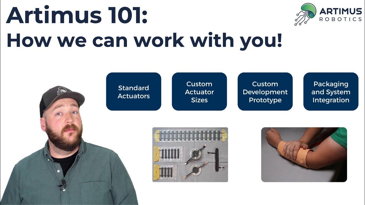 How to work with Artimus Robotics