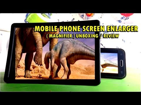 mobile-phone-screen-enlarger-(-magnifier-)-unboxing-/-review-hd
