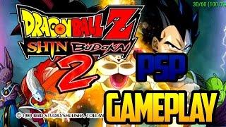 GAMEPLAY Dragon Ball: O Renascimento de F ppsspp EMULADOR para ANDROID( MOD SKINS )