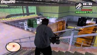 Прохождение Grand Theft Auto: San Andreas На 100% - Миссия 72 - Чёрный Проект