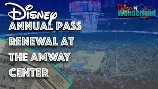 Pass Renewal at the Amway Center| Free Orlando Magic Tickets| Epcot Highlights!