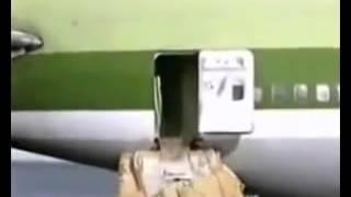 سقوط طائره فى شرم الشيخ على البحر