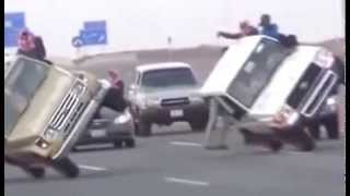 Amazing Crazy Car Stunts at DUBAI - Saudi Arabia | Whatsaap Viral Video