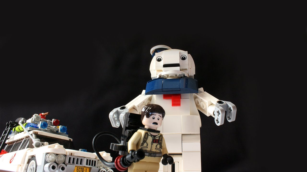 Figure only LEGO Ghostbusters Stay Puft Marshmallow Man