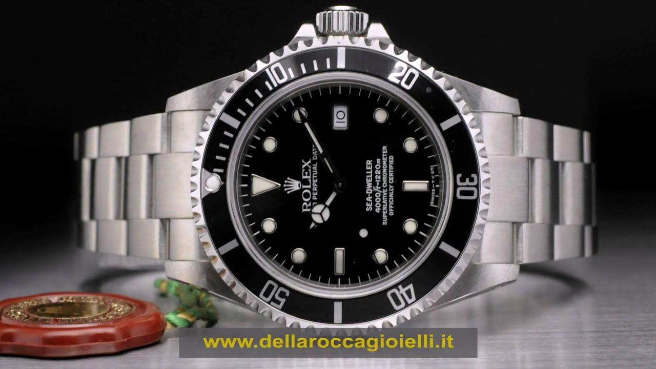 orologio rolex sea dweller