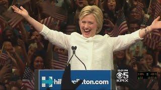 Hillary Clinton Takes California Primary, Three Other States Tuesday