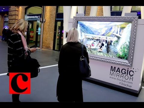 Advertising with augmented reality