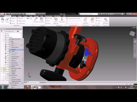 electrical router designed by autodesk inventor