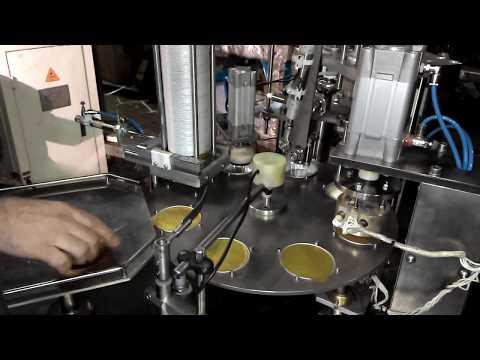 Фасовочное упаковочное оборудование, станок, автомат  фасовки и упаковки в ламистер паштета АФ1500Л