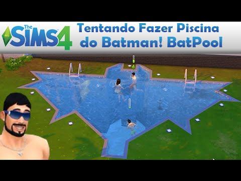 The sims 4 hist ria 26 piscina do batman da batfam lia for Piscina sims 4