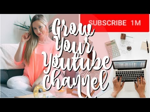HOW TO GROW YOUR YOUTUBE CHANNEL AS A SMALL YOUTUBER!