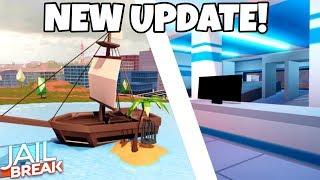 NEW PIRATE SHIP! NEW AIRPORT! Roblox Jailbreak