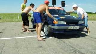 Subaru Impreza STI VS ВАЗ 2114