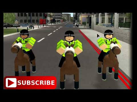 [Roblox City of london] Uk Policing first res ponders!