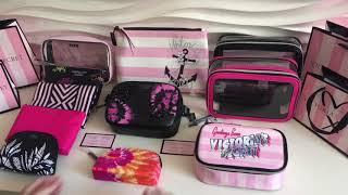 Косметичка Victoria's Secret обзор кейсов для косметики Виктория Сикрет beauty bag