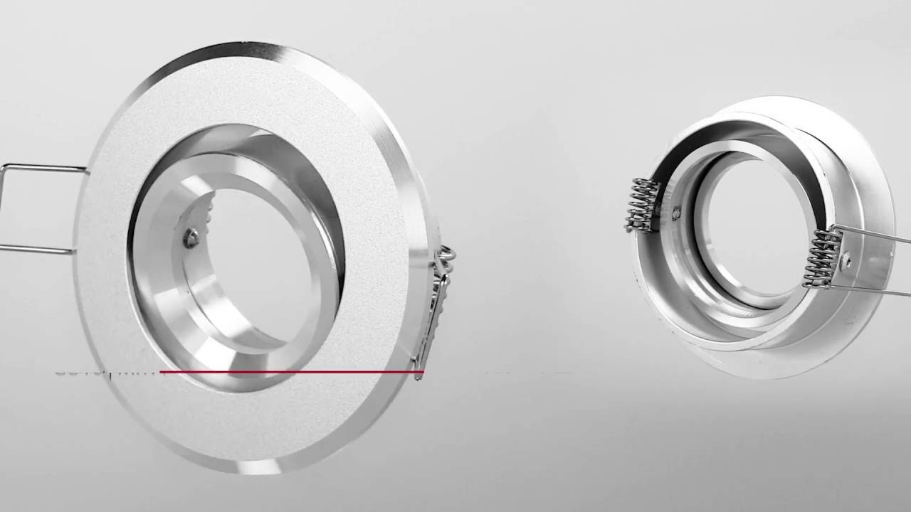 GU10 MR11 Einbaustrahler LED Einbauspot Deckenstrahler Farbe ...
