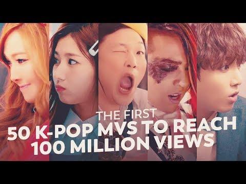 THE FIRST 50 K-POP MVS TO REACH 100 MILLION VIEWS Mp3