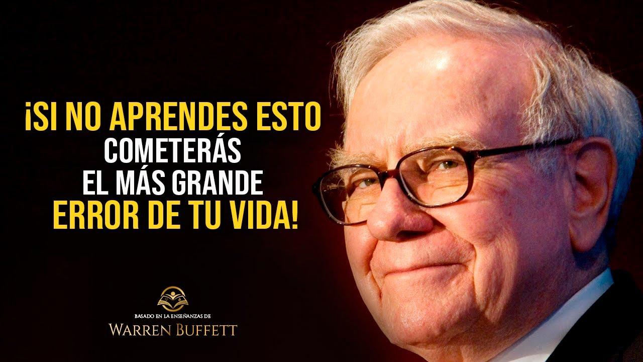 Warren Buffett: EL 99% DE LA GENTE EXITOSA aprendió estas lecciones antes de tener éxito y riqueza