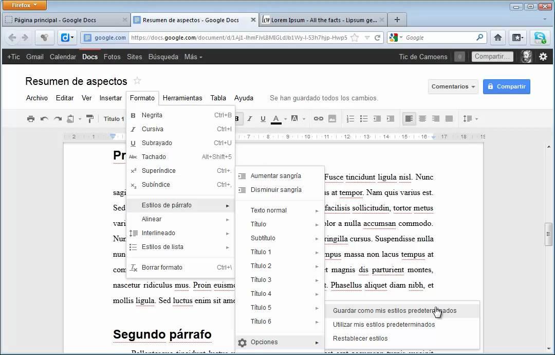 Procesador de textos de google docs youtube for Google docs que significa