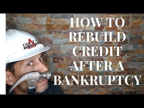 How to improve your credit score after chapter 7//Delta Credit Tip
