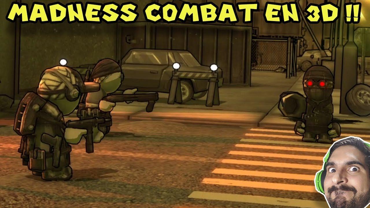MADNESS COMBAT EN 3D !! - Madness Combat Project Nexus Demo (#1)
