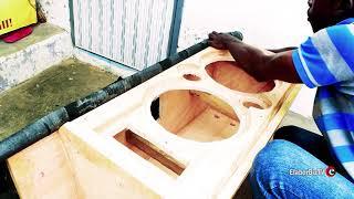 Ghana Technology Wizkid builds a compact DJ speaker - pt 2