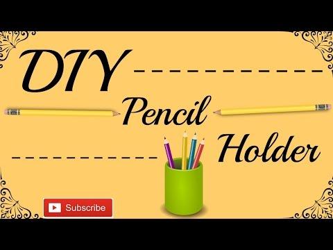DIY Pen Stand (Using toilet paper roll) | GirlsRock DIY
