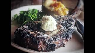 "Tige and Daniel vote Jason Aldean's ""Tommy""hawk Steak Best in Nashville"