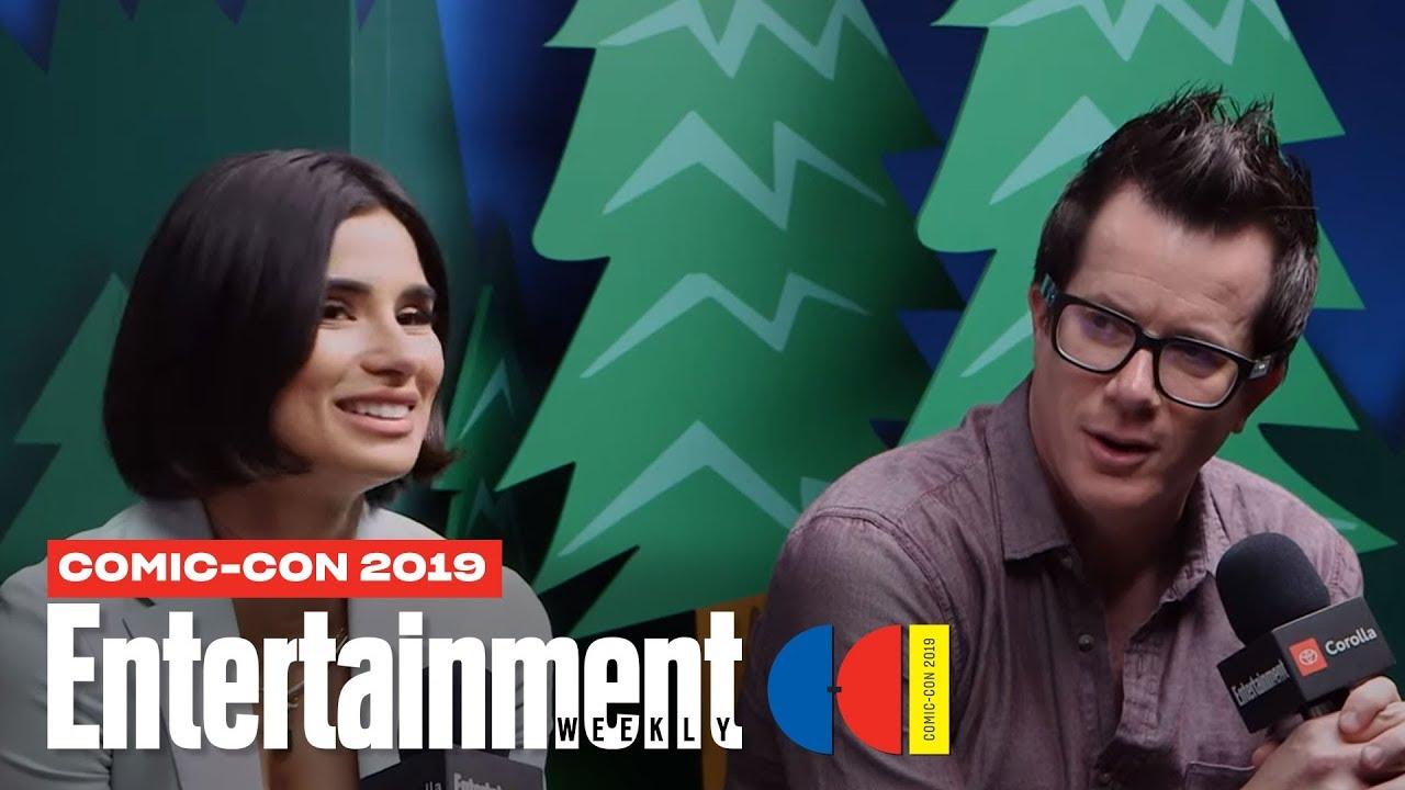 'Doom Patrol' Star Diane Guerrero & EP Jeremy Carver Join Us LIVE | SDCC 2019