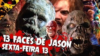 13 FACES OF JASON VOORHEES | FRIDAY THE 13TH