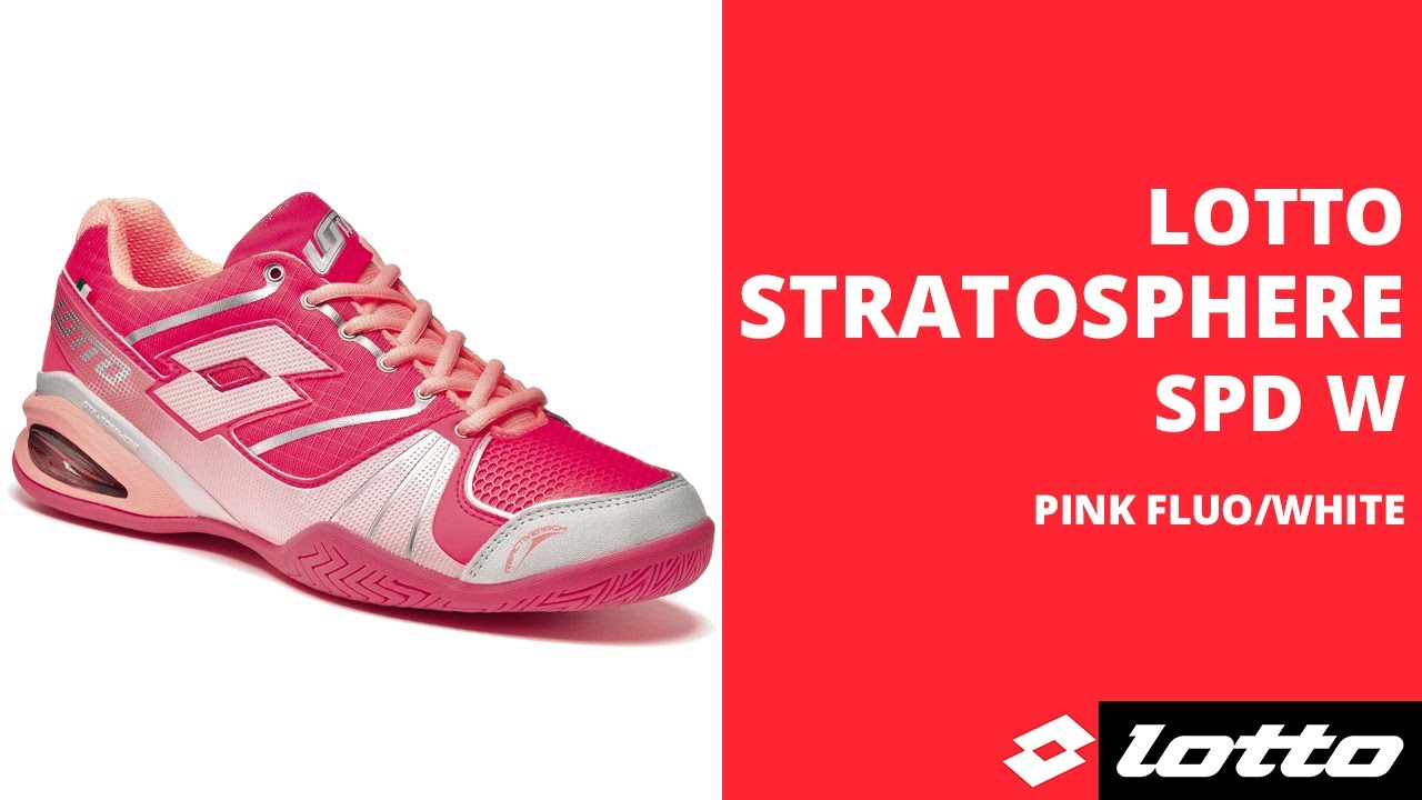 Кроссовки для тенниса LOTTO STRATOSPHERE SPEED S3801 - YouTube