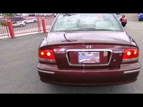 2003 hyundai sonata gls sedan automatic youtube for Mccloskey motors truck town