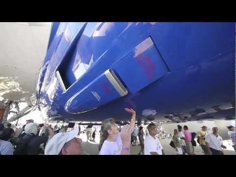 Boeing 787 Dreamliner em Oshkosh - Veja de perto parte 1