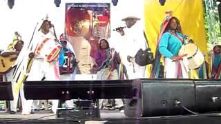 CONGADA CHAPÉUS DE FITAS OLÍMPIA SP  EM  ATIBAIA 2014
