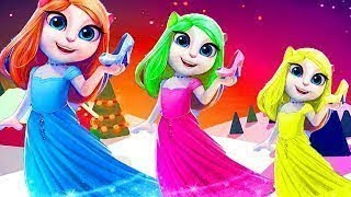 Princess Angela - My Talking Angela Make up Dress up Children HD Game