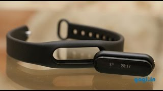 Yu Fit review - fitness band with OLED display for ₹999