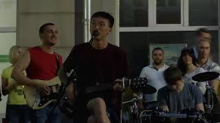 "Кореец поет ""Группу крови"". ЧМ 2018. Нижний Новгород"