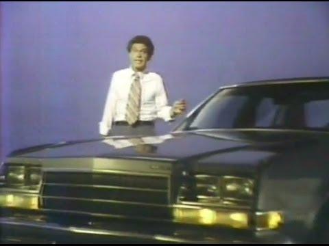 1979 JOE PISCOPO Buick commercial