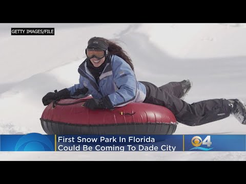 Katie Sommers - First Look At Dade City's Snow Park, Opening Next Year