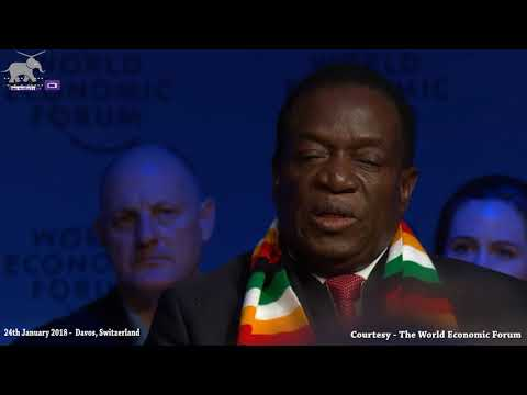 President E.D Mnangagwa's FULL Davos interview