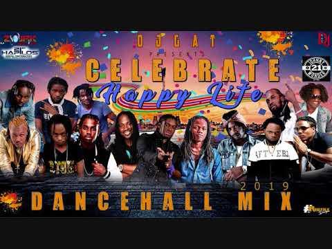 DANCEHALL MIX FEBURARY 2019  [CLEAN] DJ GAT CELEBRATE HAPPY LIFE FT POPCAAN/GOVONA/MASICKA/QUADA