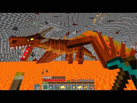 ПЕЩЕРА ДРАКОНА ! - Хардкорный майнкрафт - Minecraft 1.16.5 #12