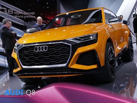 Audi Q8 en direct du Salon de Genève 2017