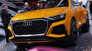 Audi Q8 en direct du Salon de Genève 2017