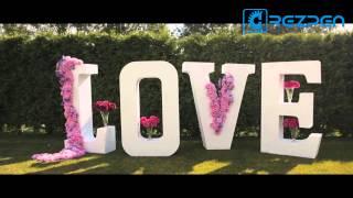 Аренда букв LOVE на свадьбу из пенопласта от REZPEN