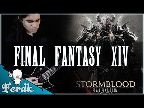 "FINAL FANTASY XIV - ""Stormblood Boss Theme (Triumph)""【Symphonic Metal Guitar Cover】 by Ferdk"