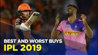 The best and worst buys of IPL 2019