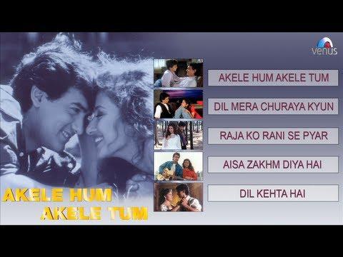 Akele Hum Akele Tum  Jukebox  Aamir Khan, Manisha Koirala
